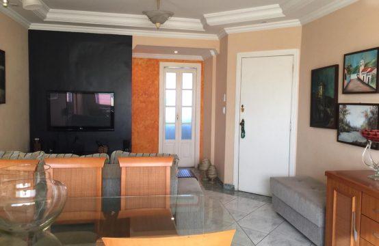 Apartamento 2 Dorms sendo 1 suíte + 3º reversível – Garagem demarcada – FRENTE – VISTA LIVRE